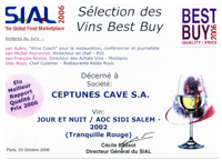 certification, vin, tunisie, sfax, ceptune